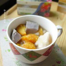 红薯芋头糖水