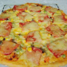 烤猪排披萨
