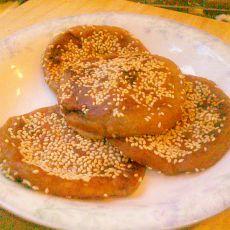 红薯糯米馅饼