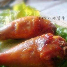 零失败率超级好吃的烤鸡腿:葱香烤鸡腿