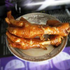 五香卤鸡爪的做法