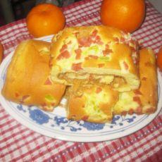 火腿肉松蛋糕卷