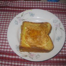 黄金奶酪面包片的做法