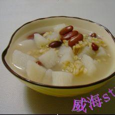 山药花豆燕麦粥