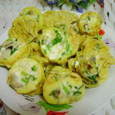 香菇卡通蛋饼