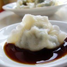 猪肉大叶芹水饺的做法