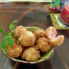 香酥虾丸的做法