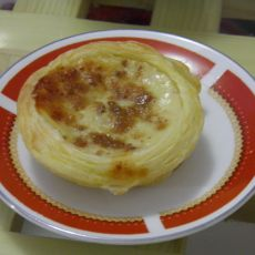 中式肉松蛋挞