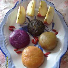 四色糯米饼
