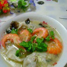 鲜虾茴香馄饨的做法