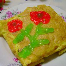电饼铛蛋包饭