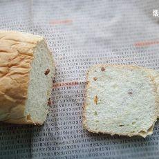 葡萄干养生面包