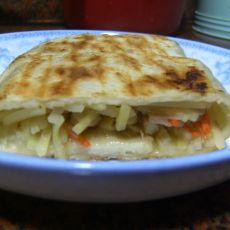 胡萝卜土豆鸡腿饼的做法