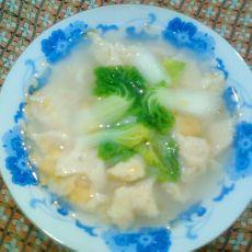 清菜疙瘩汤的做法