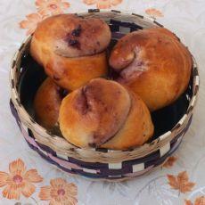 蓝莓面包的做法