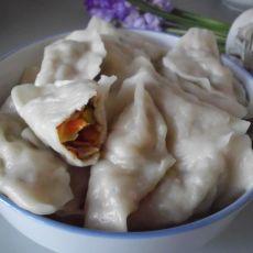 红白萝卜饺子