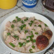 红菇米粉烫的做法