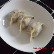 烫面酸菜蒸饺