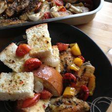 香草番茄烤鸡翅的做法