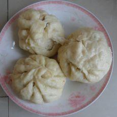 四季豆猪肉包子的做法