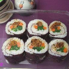 沙丁鱼寿司便当的做法