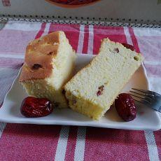 红枣酸奶蛋糕的做法
