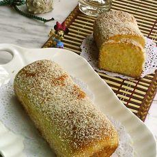 椰蓉雪花面包的做法