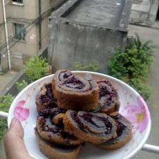 桑葚蛋糕卷
