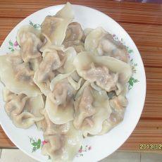 冬菇鸡肉水饺