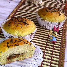 欧芹培根面包
