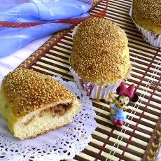 浓香培根面包