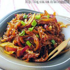 韩式鱿鱼丝的做法