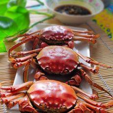 一个人的美味享受---清蒸大闸蟹
