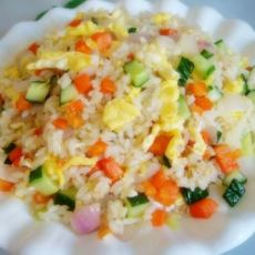 营养早餐――家常蛋炒饭