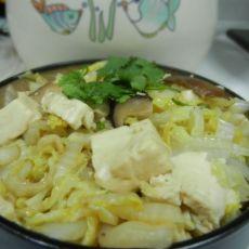 10分钟家常菜――大白菜烩豆腐