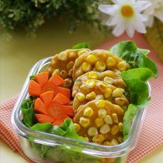 奶香甜玉米小煎饼―营养俱全