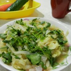 10分钟家常菜――清香醋溜白菜