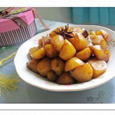 素菜荤吃红烧土豆的做法