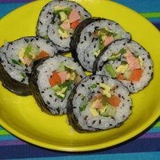 家常版寿司的做法