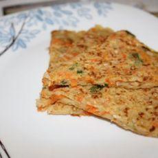 营养早餐—胡萝卜饼的做法