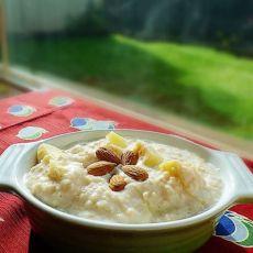 健康早餐~~苹果杏仁麦片的做法