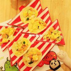 奶酪薯片沙拉