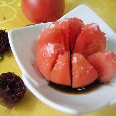糖醋番茄-首发的做法