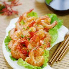 苏菜经典之香脆油爆虾