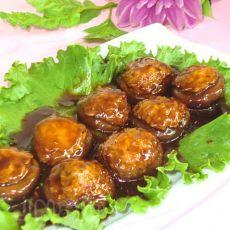 红烧鲜虾酿香菇的做法