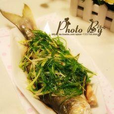 清蒸五笋鱼的做法