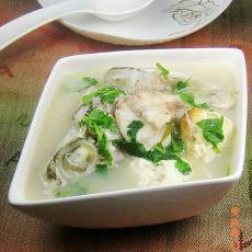 海鲈鱼头豆腐汤的做法