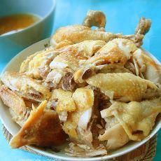 盐�h鸡―电压力锅版的做法