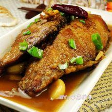 一个人的美味享受---红烧马哈鱼块