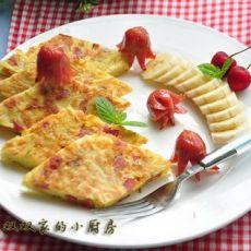 爱心趣味早餐